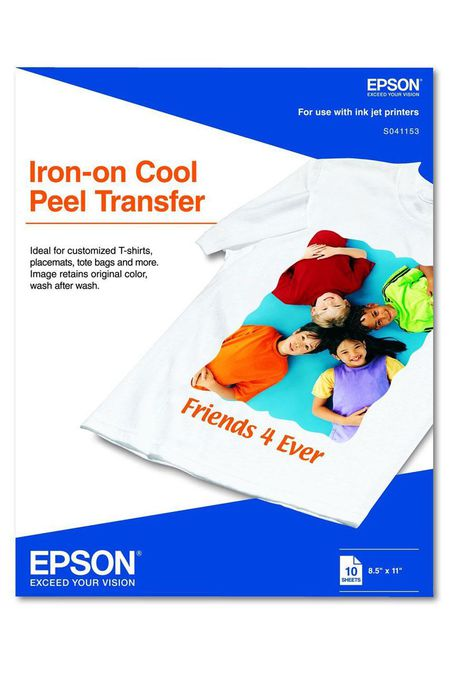 choosing the right iron-on transfer paper