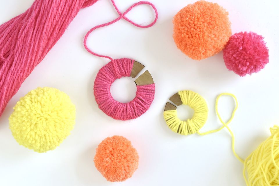 pom pom crafts to try