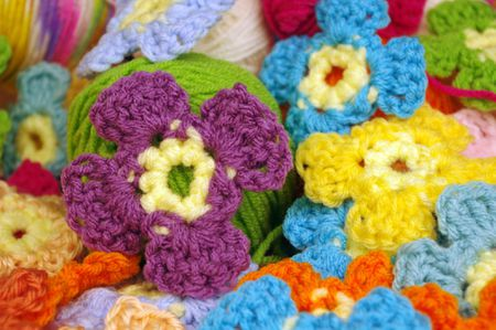 Attach Crochet Flowers To Blanket Flowers Healthy