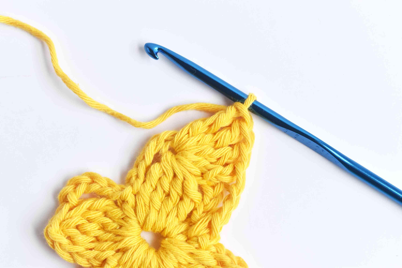 Treble Crochet 4 and Chain 1