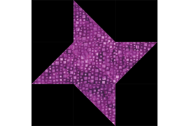Easy Friendship Star Quilt Block Pattern
