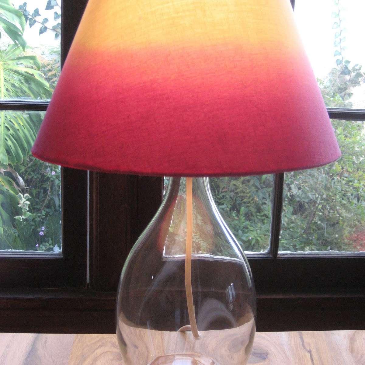 DIY Ombre Lampshade