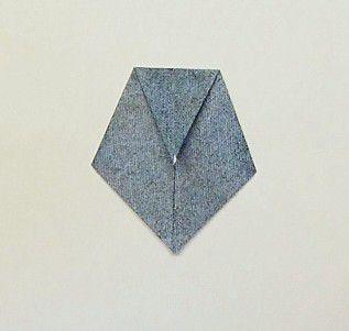 Origami Tie Step 5