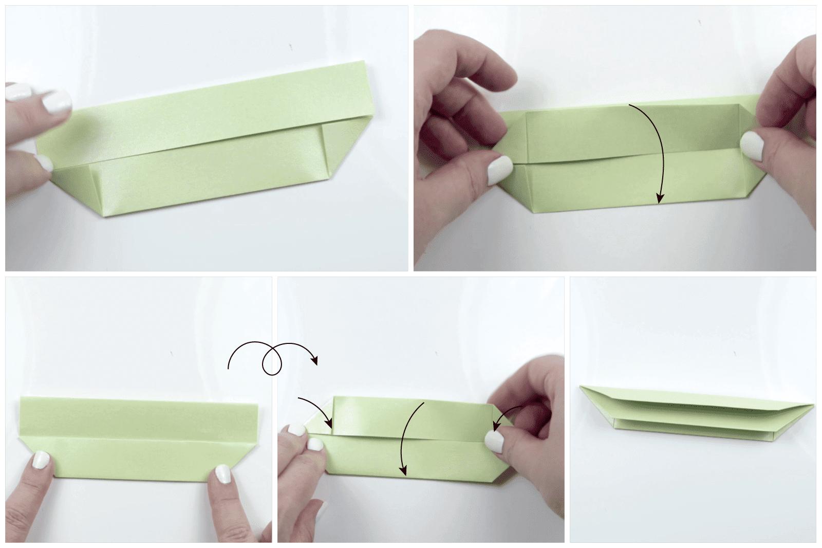 modular origami lotus 6