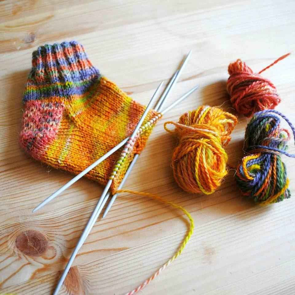 Knit a Sock With a Step-by-Step Practice Pattern