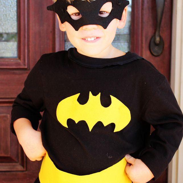 homemade superhero batman costume