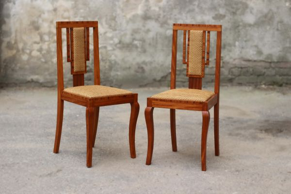 Two Art Deco chair