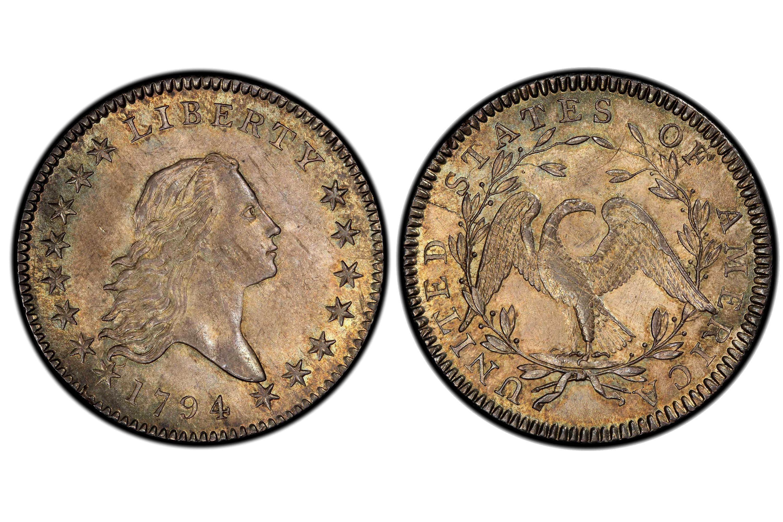 1794 Flowing Hair Half Dollar