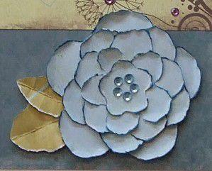 DIY Flower Scrapbook Page Embellishments