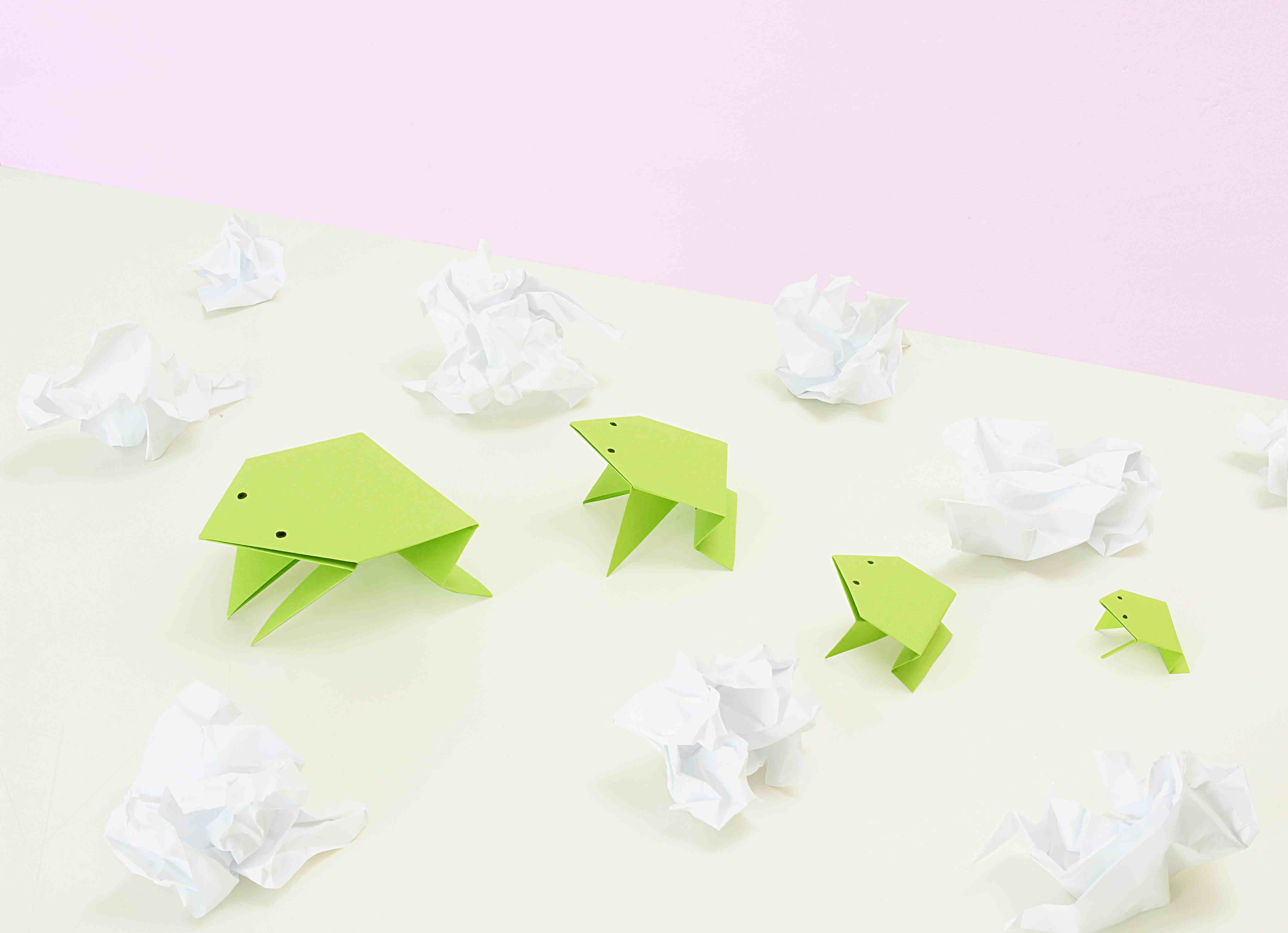 Folded Paper and Origami Games