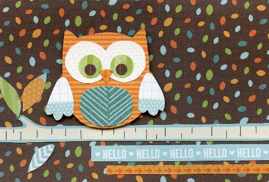 Owl Greeting Card Idea