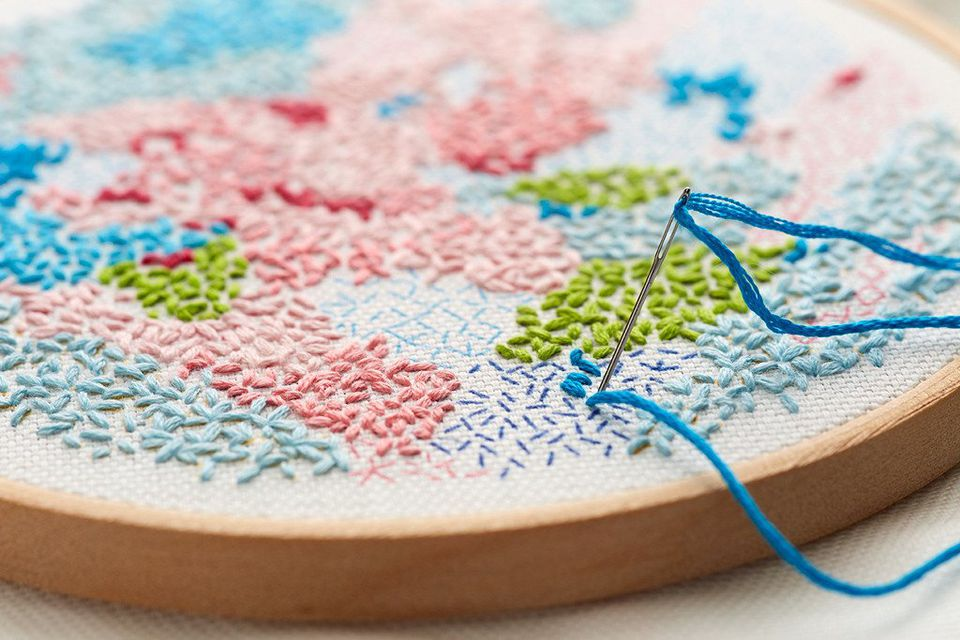 Small World Printed Fabric Pattern