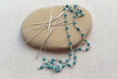 Fast Wire Wrapped Bead Chain