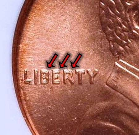 Lincoln memorial penny key dates and rarities 1995 lincoln memorial penny doubled die obverse variety publicscrutiny Images