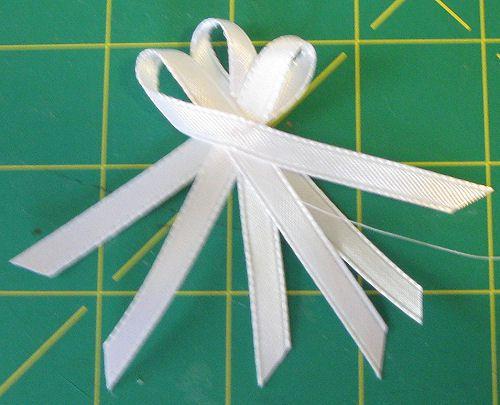 DIY garter ribbon