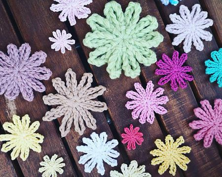 40 Easy Crochet Flower Patterns Beauteous Crochet Flowers Patterns