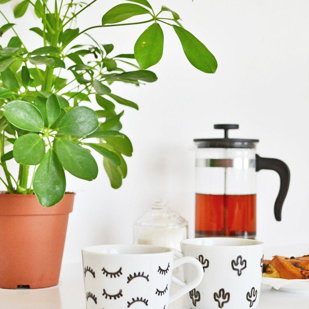 DIY Cactus Mug