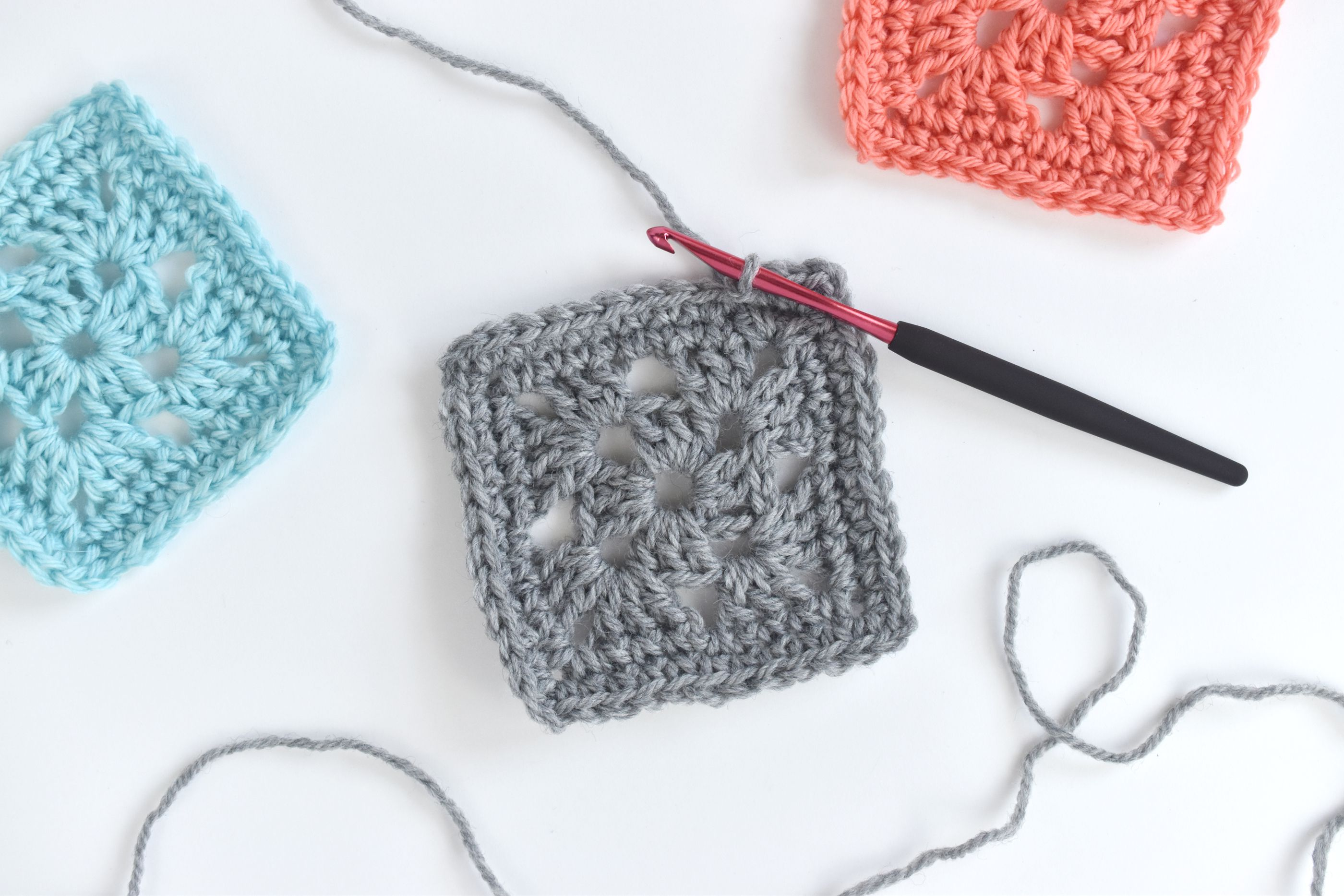 How To Make A Crochet Granny Square