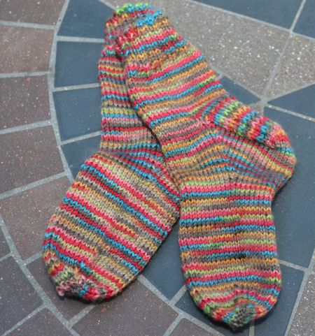 Instructions For Knitting Simple Toddler Socks