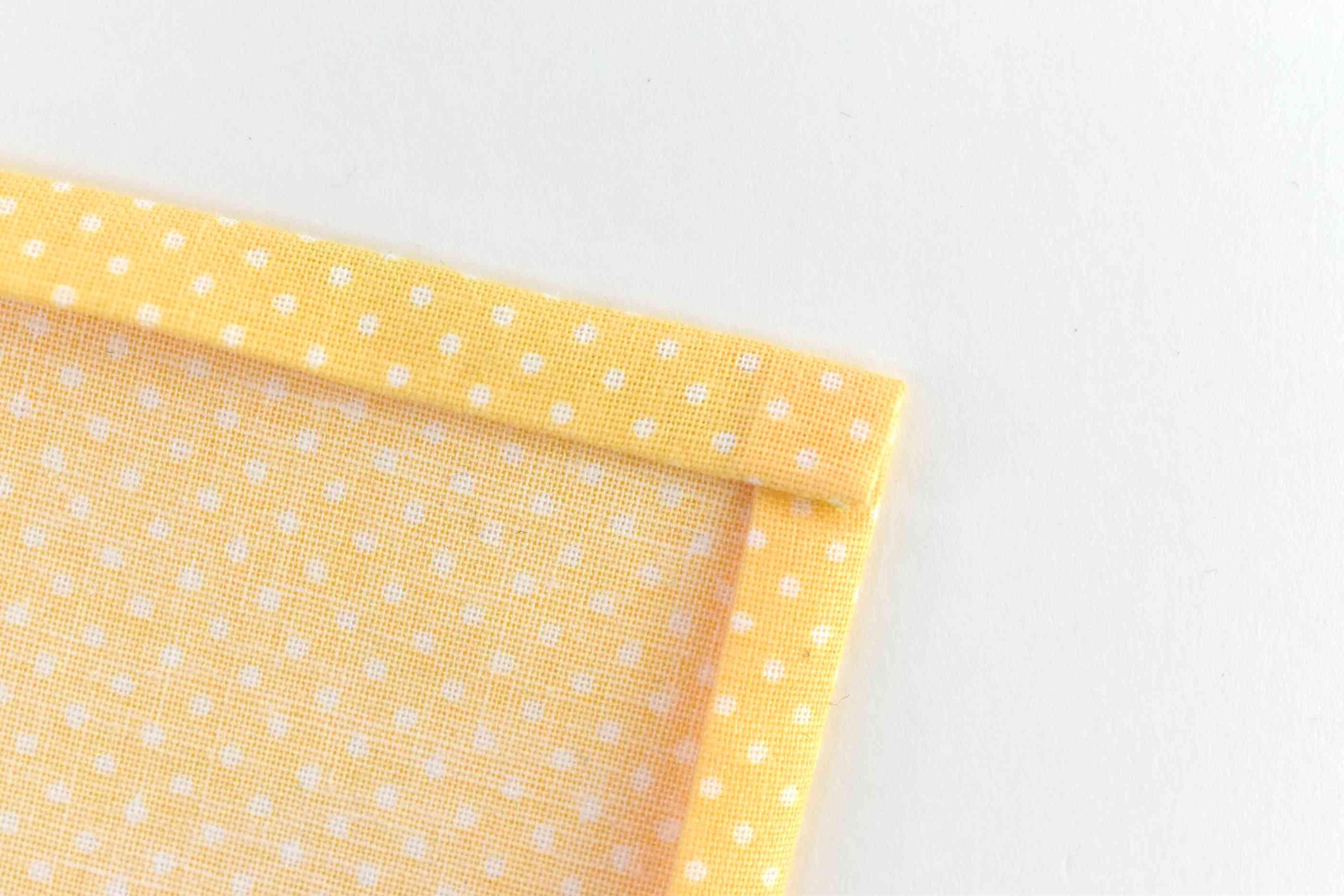 Fold Over Each Napkin Corner