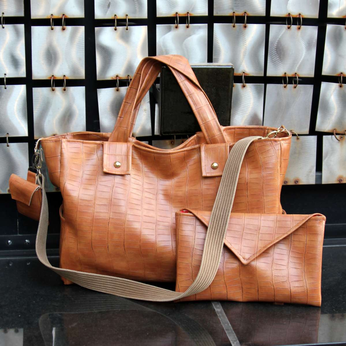 Coach-Inspired Handmade Baby Bag