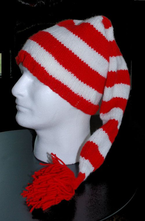 Striped Stocking Hat pattern