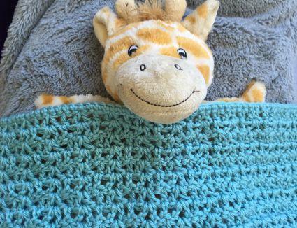 Crochet Doll Blanket