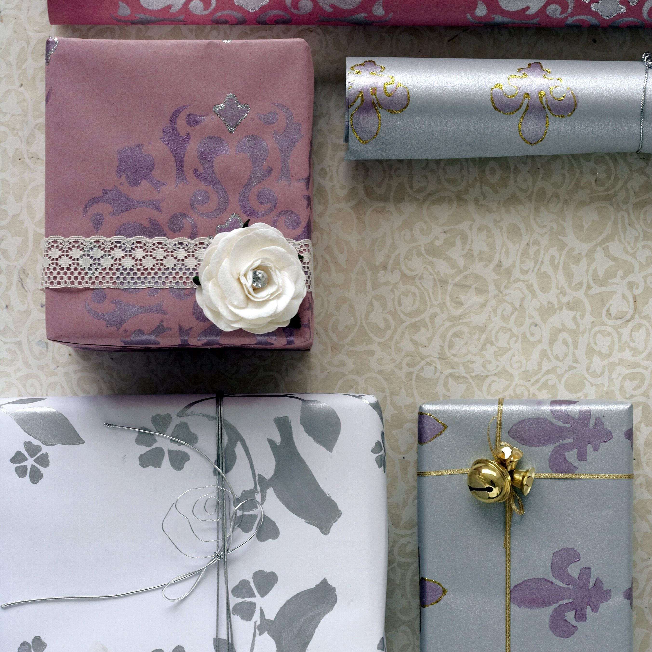 Make Your Own Unique Wrapping Paper
