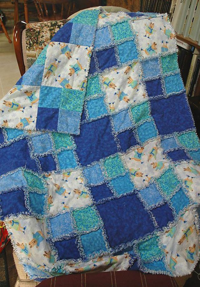 Pictures of Rag Quilts