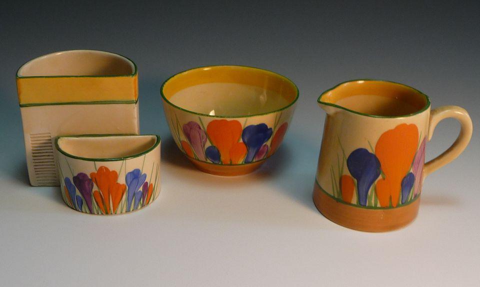 Clarice Cliff ceramic pieces