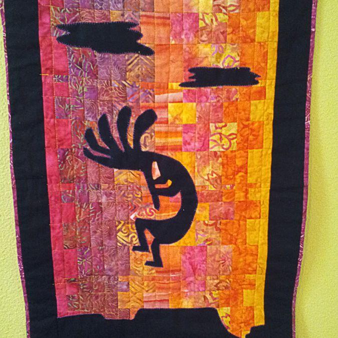 Kokopelli Sunset Quilt