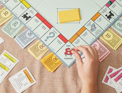 free parking space in Monopoly