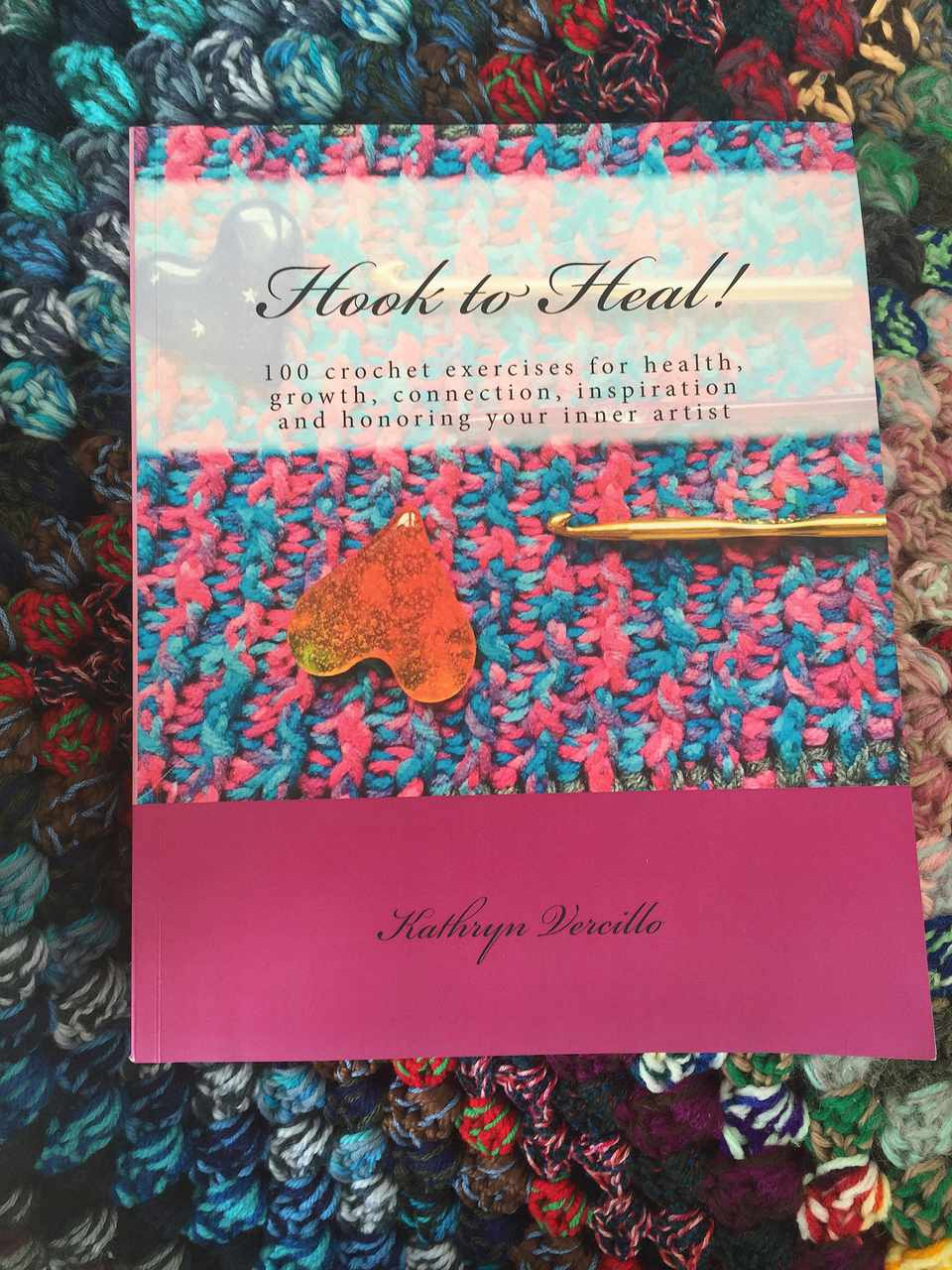 Hook to Heal Crochet Book