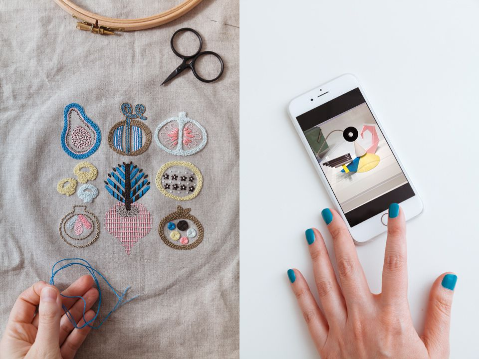 A Hand Embroidery Project by Karen Barbé