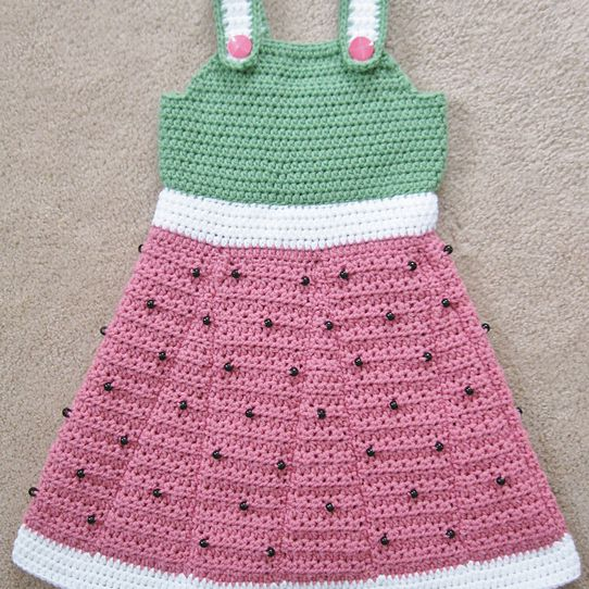 10 Watermelon Crochet Patterns