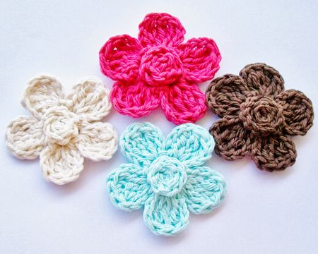 Free Crochet Motif Patterns And Instructions