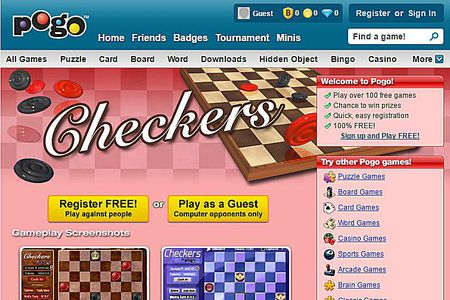 checkers online 2 players different computers