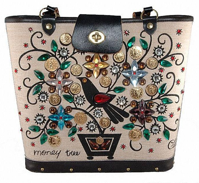 Enid Collins Money Tree Handbag
