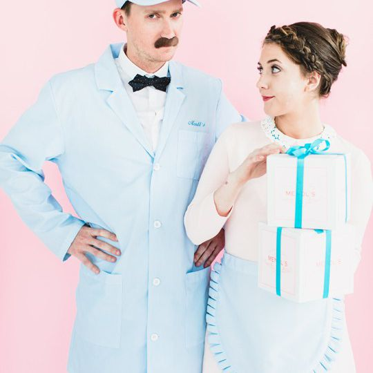 DIY Grand Budapest Hotel couples costume