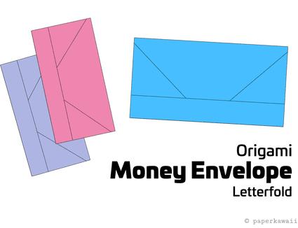 origami money envelope letterfold