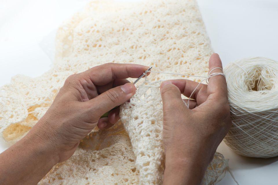 Left-Handed Crochet