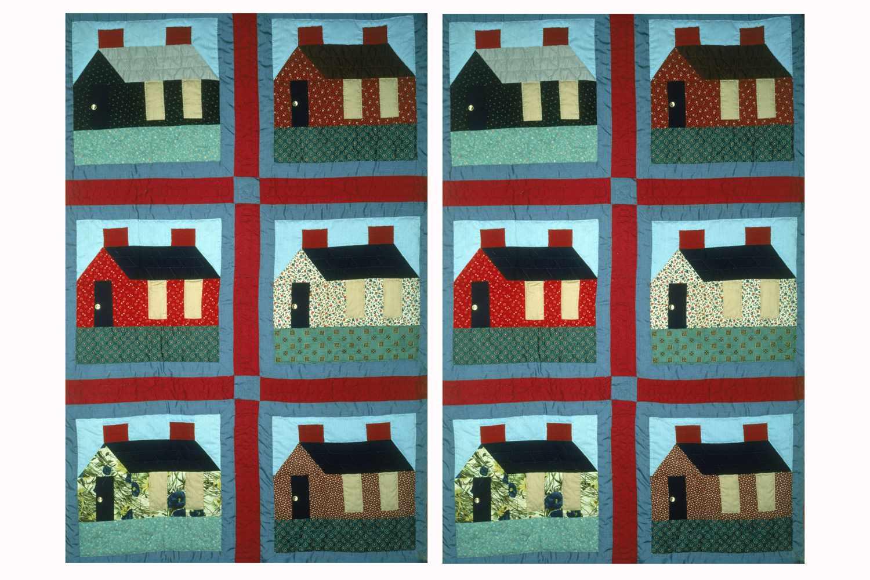 Make Quilt Sashing with Cornerstones