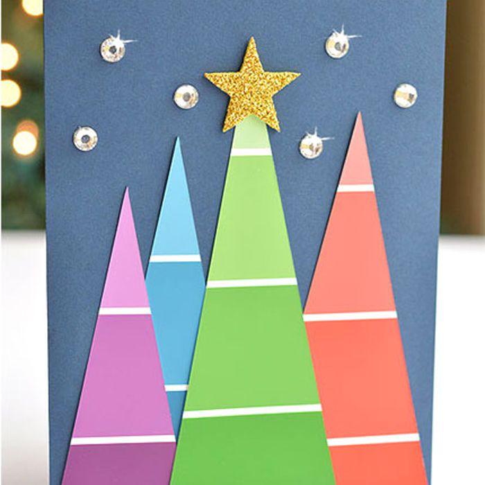 26 diy christmas card ideas 26 diy christmas card ideas