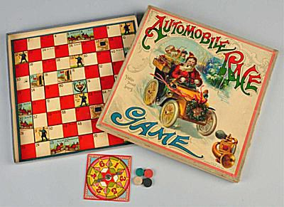 McLoughlin Bros. Santa in Automobile Race Game