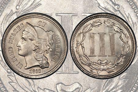 U S  Three Cent Nickel Prices and Values