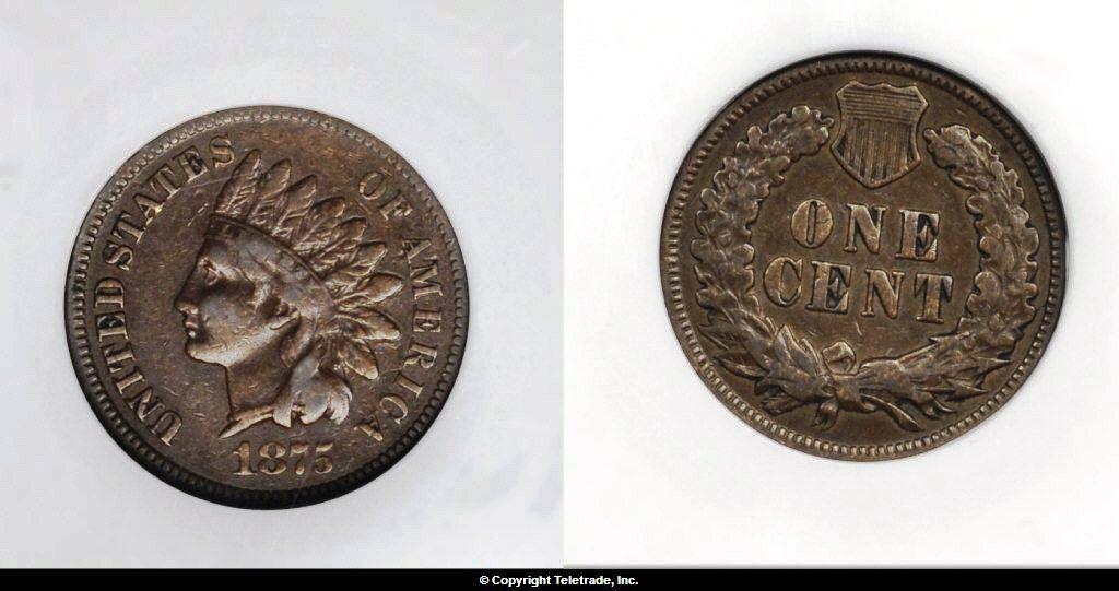 Indian Head Penny Graded Very Fine (VF20)
