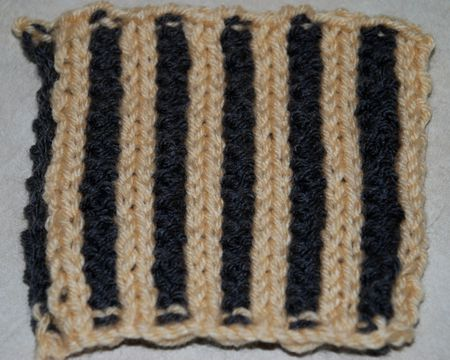 Learn To Knit The Corrugated Rib Stitch