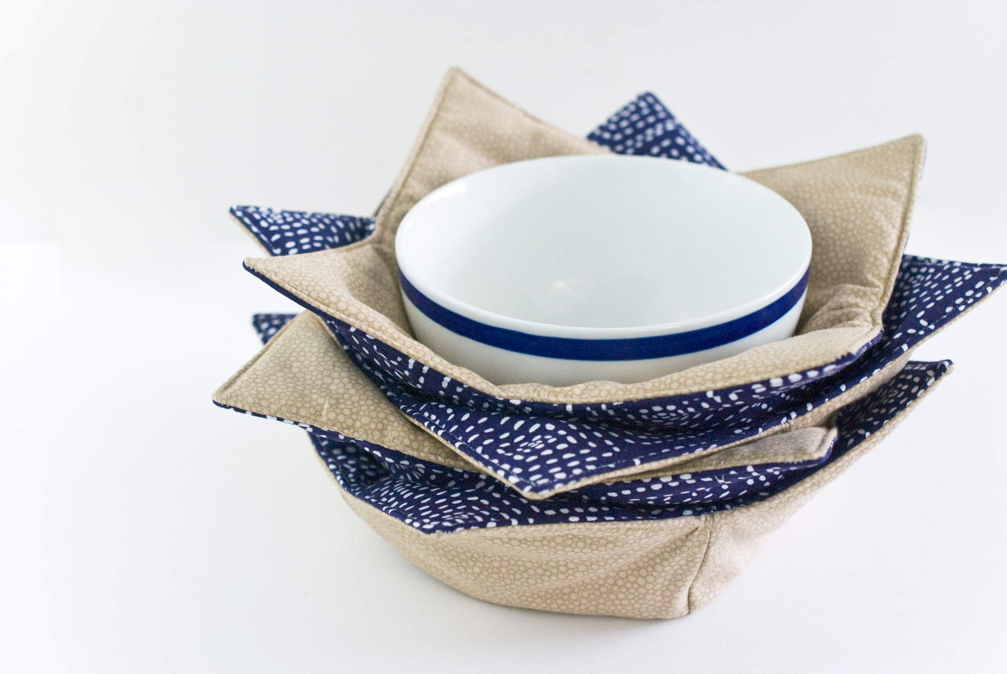 Easy Microwave Bowl Potholders