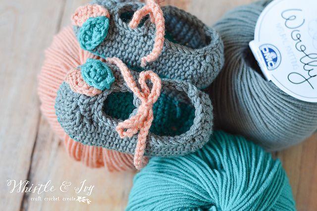 Crochet Baby Shoes Free Pattern