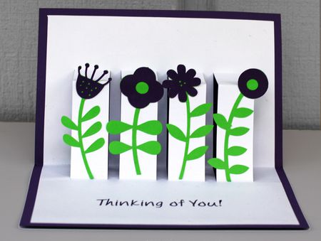 Learn how to make a floral pop up greeting card flower pop up card m4hsunfo